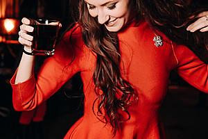 Elegant Night Red